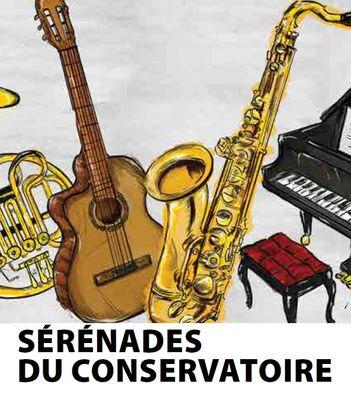 2018-01-18 au 27 mars Sérénades du Conservatoire