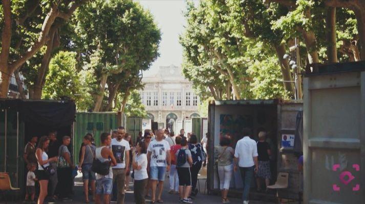 2018-05-18 au 21 art déboite Béziers