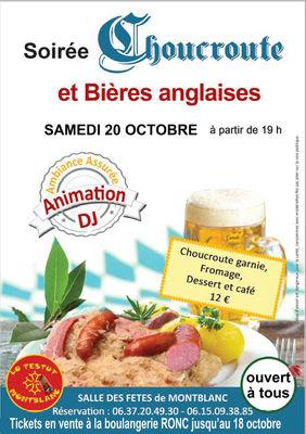2018-10-20 soirée choucroute montblanc