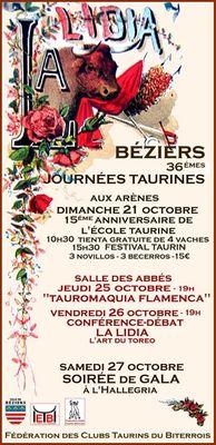 2018-10-21, 25 et 27 journées taurines Béziers
