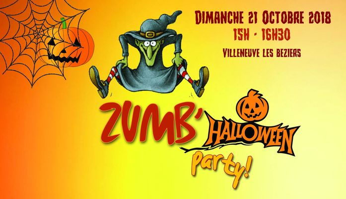 2018-10-21 halloween party zumba VLB