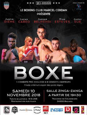 2018-11-10 Boxe Béziers