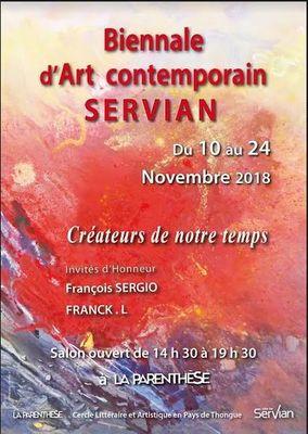 2018-11-10 au 24 biennanle art contemporain de Servian