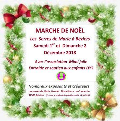 2018-12-01 et 02 marché de noël serres de marie Béziers