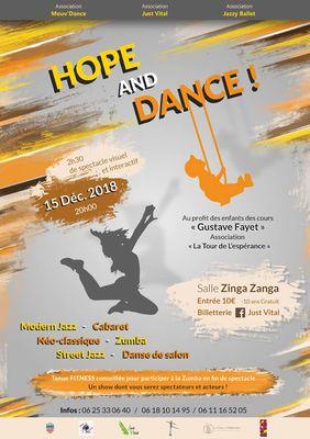2018-12-15 Zinga Béziers - hope and dance béziers