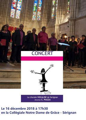 2018-12-16 concert noël vocalise Sérignan
