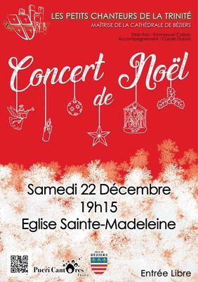 2018-12-22 concert noël la madeleine Béziers