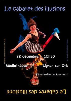 2018-12-22 cabaretillusions affiche - lignan