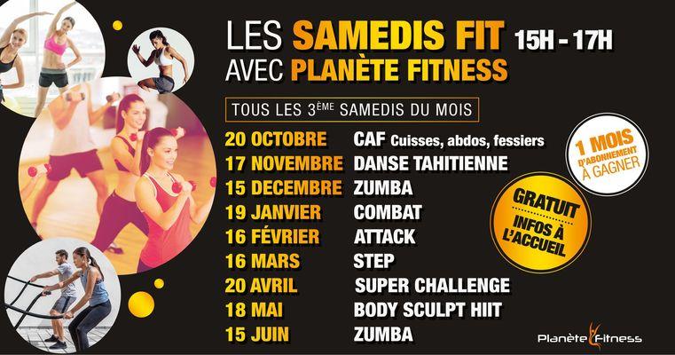 2018-2019 samedi fitness polygone