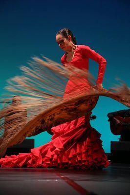 2018 baile flamenco Samantha Alcon