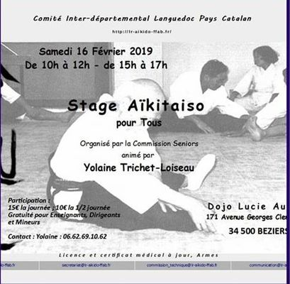 2019-02-26 stage Aïkitaiso Béziers