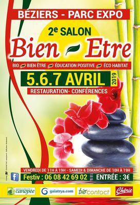 2019-04-05 au 07 salon Bien être Béziers