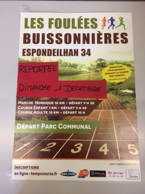 2019-12-01-foulees-buissonnieres-reportees