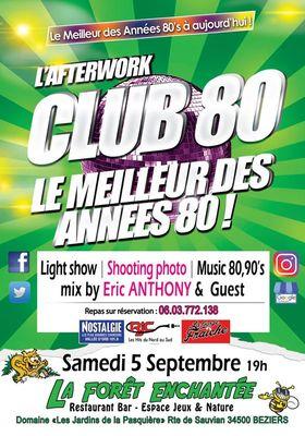 2020 AfterWork Club 80 Enchanté Septembre