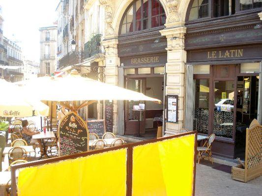 2eme photo extérieur restaurant le latin beziers