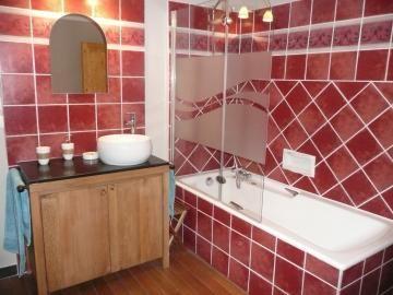 Salle de bain chambre Salagou.
