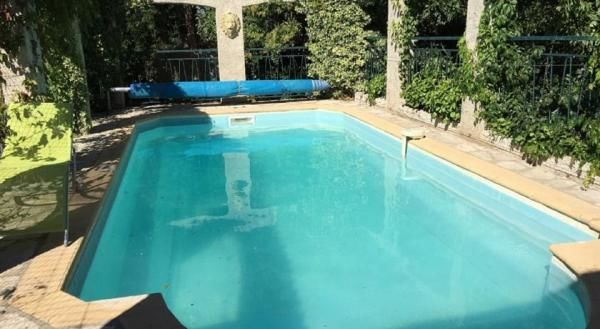 la piscine.