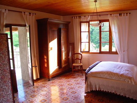 vue chambre sur terrasse