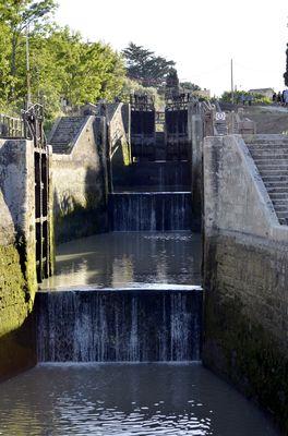 9 ecluses de Fonseranes-escalier d'eau- @AFirmin
