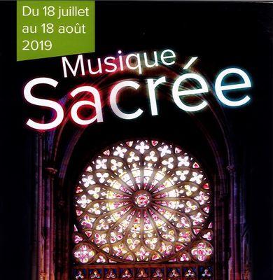 Musique sacrée - Saint-Malo - 18juilau18aout
