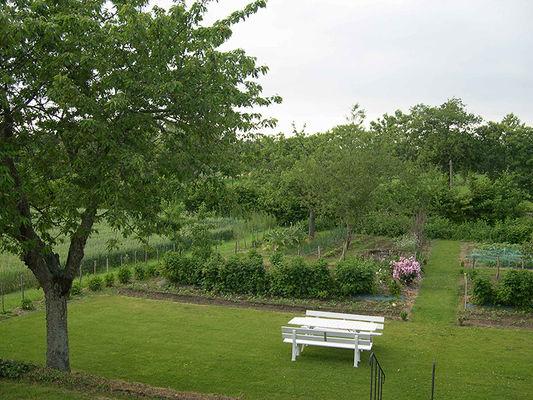 MANOIR LA BARDOULAIS - Jardin privé - St Méloir