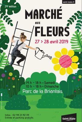Marché aux fleurs - Saint-Malo - 27&28avril2019