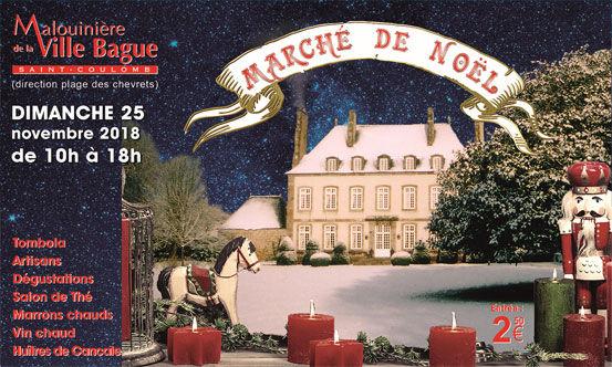 Marché de Noël Ville Bague 25nov18