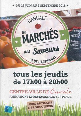 Marché des Saveurs 28juin-6sept