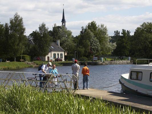 exposition - Montertelot d'hier à aujourd'hui - Morbihan - canal