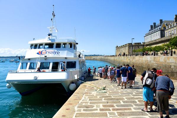 Navette - Compagnie Corsaire - Saint-Malo