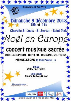Noël en Europe - Saint-Malo - 9dec2018