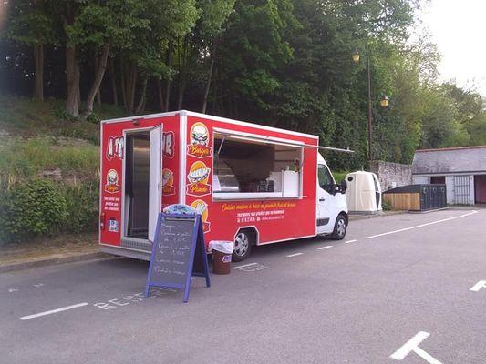 Food truck - A Toute Saveur - Quai fluvial - Josselin - Morbihan - Bretagne