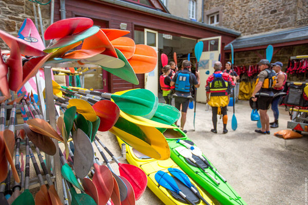 Corsaires Malouins section kayak