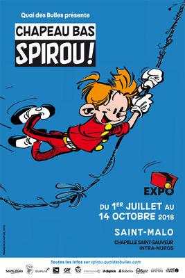 Chapeau bas Spirou - Saint-Malo - 1juil14oct2018