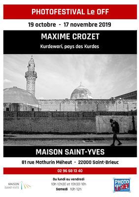 Affiche-Photofestival-Le-Off---Maxime-Crozet-Kurdewari--pays-des-Kurdes---Maison-Saint-Yves-du-19-oct-au-17nov-2019