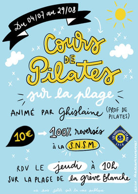 Cours de Pilates - Guilvinec - Pays Bigouden