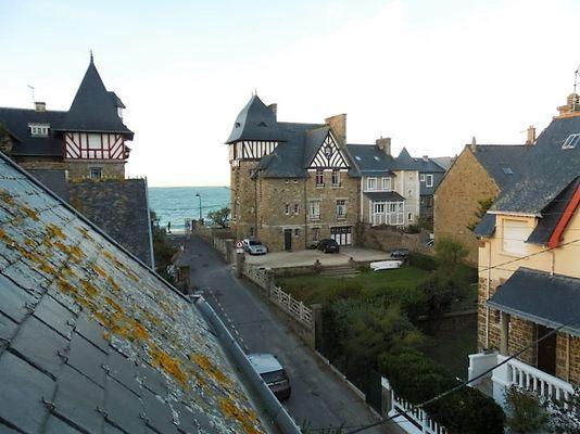 Aperçu mer chambre - L'Etrave - Résidence la Hoguette - Saint-Malo