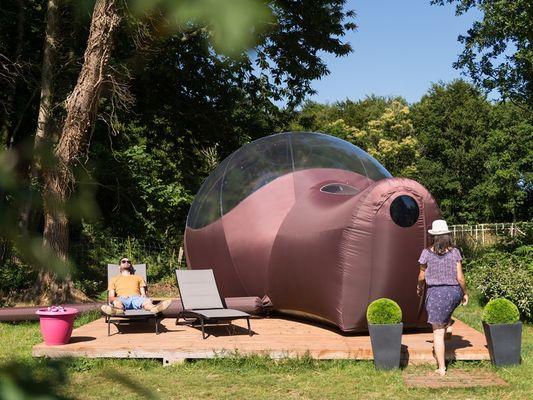 Bubble room - Hébergements insolites - Camping des Cerisiers - Guillac - Morbihan - Bretagne