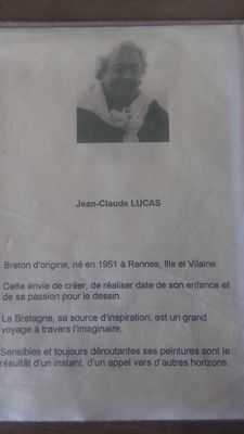 Biographie  - Atelier Galerie Luka - Cancale
