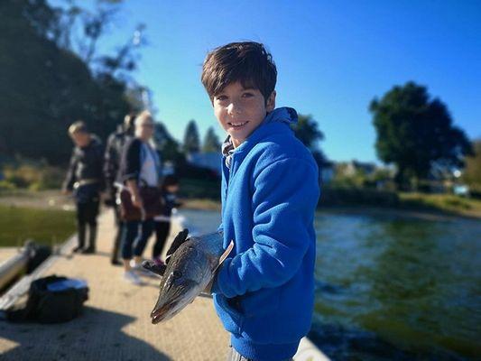 Breizh-Multi-Fishing - pêche enfant - Ploërmel - Bretagne