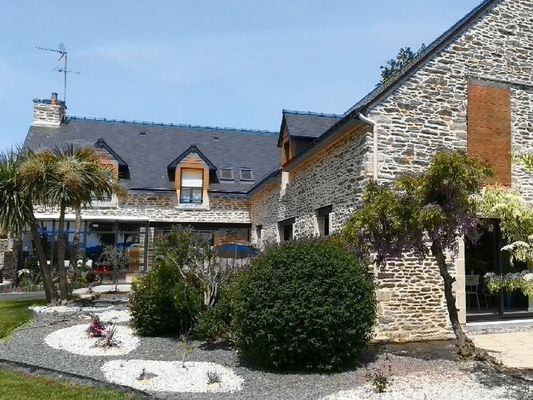 Chambres d'hôtes Les Hortensias - Jardin - La Croix-Helléan - Morbihan - Bretagne