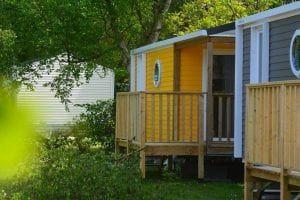 Camping-La-Touesse-Saint-Lunaire-mobilhome-jaune