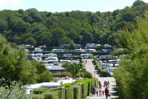 Camping de la Plage de Saint-Pabu