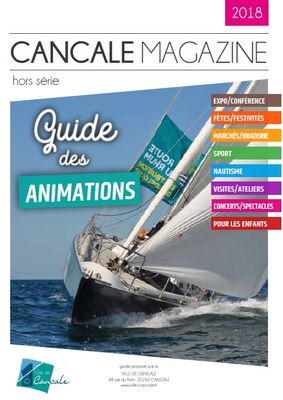 Guide des Animations 2018