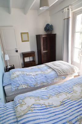 Chambre bleue - Klotz - Saint-Malo