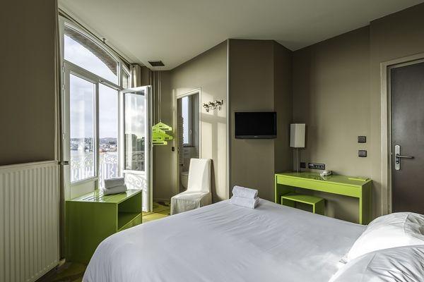 Chambre double - Hôtel Aubade - Saint-Malo