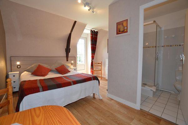 Chambre double - le Hindré - Saint-Coulomb