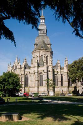 Chevet Basilique St Sauveur