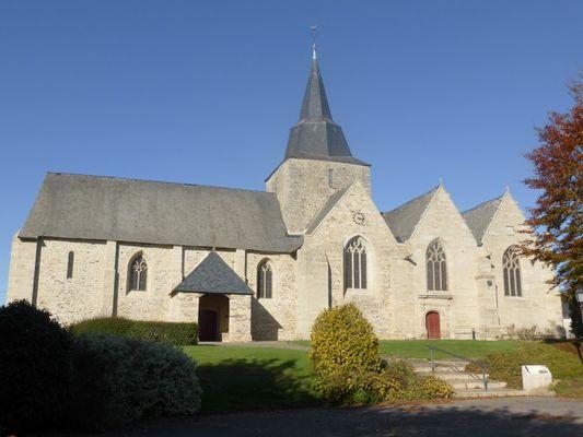 Circuit d'interprétation du patrimoine de Guégon - Eglise Saint-Pierre-et-Saint-Paul - Bretagne