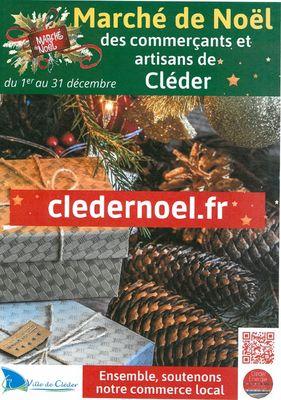 Cléder-Marché de Noël